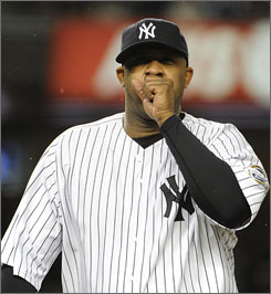 CC Sabathia has allowed just two earned runs in two starts for the Yankees this postseason.