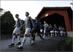 Messiah's men's soccer team won one of the school's three NCAA titles in 2008-09.