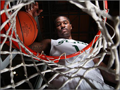 Kalin Lucas is the reigning Big Ten player of the year and hopes to help Michigan State go one step further in the NCAA tournament and win the national title in Indianapolis this season.