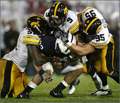 The Iowa defense swallowed up Penn State. The unit will try to do the same at Michigan State.
