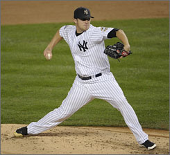 Yankees' Phil Hughes has struggled in relief recently. He has a 9.64 ERA in seven postseason games.