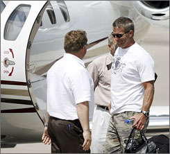 Brett Favre left Green Bay on Aug. 6, 2008, after a protracted dispute with the Packers and having played the final game of his 16-year career there.