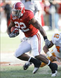 Alabama running back Mark Ingram, who has rushed for 125.5 yards a game this season, is hoping to become the first Crimson Tide player to win the Heisman Trophy.
