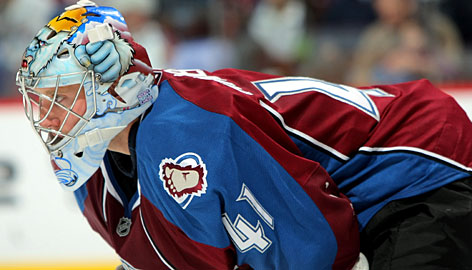 Colorado goalie Craig Anderson has played every minute in the Avalanche's hot start to the season.