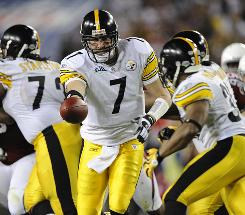 The Steelers and quarterback Ben Roethlisberger will do less handing off to the running backs and more passing.