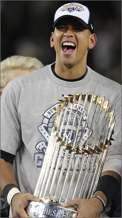 After 15 seasons, 12 All-Star game selections, three Most Valuable Player awards, A-Rod is finally a champion.