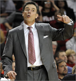 Rick Pitino had a long offseason and has to replace two NBA draft lottery picks for the Louisville Cardinals this season. But it's a safe bet he can't wait to get back to the games and pacing the sideline.
