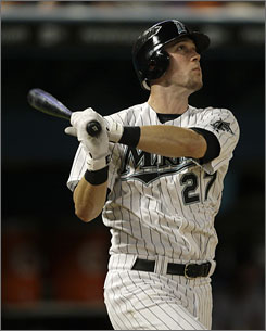 Outfielder Jeremy Hermida hit .259 with 13 home runs and 47 RBI for the Florida Marlins in 2009. He was traded to the Boston Red Sox Thursday.