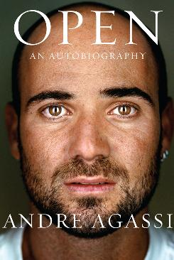 "Andre Agassi's Autobiography ""Open"" arrives in bookstores Monday."