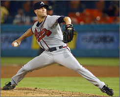 Tim Hudson went 2-1 with a 3.61 ERA in his seven starts in 2009.