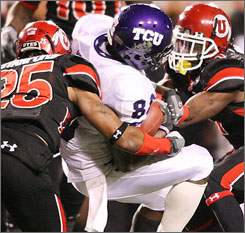 Utah needed a late rally to beat TCU and stay unbeaten on their way to the Sugar Bowl last season.