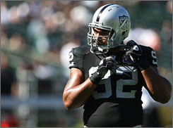 Richard Seymour says he's open to signing a new contract with the Raiders after this season.