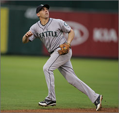 Shortstop Jack Wilson, 31, signed a two-year $10 million dollar contract to remain with the Seattle Mariners. The Mariners obtained Wilson in a trade with the Pittsburgh Pirates on July 29.