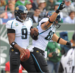 David Garrard and the Jaguars have won five of their last seven games since opening the season 0-2.