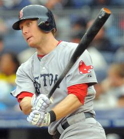 Jason Bay, above, had a career-high 36 homers and 119 RBI last season with the Red Sox. Bay and fellow outfielder Matt Holliday are expected to generate the most attention and dollars this free agent season.