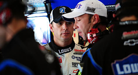 Jimmie Johnson has set the standard for NASCAR excellence the last four years, riding a streak of three consecutive championship campaigns into Sunday's season finale.