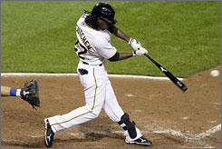 Pirates outfielder Andrew McCutchen finished fourth in National League rookie of the year voting behind winner Chris Coghlan of the Marlins.