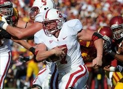 Senior running back Toby Gerhart has carried the load for a Stanford team that is averaging 36.1 points a game. The No. 17 Cardinal is coming off an impressive 55-21 rout of then-No. 10 Southern California.