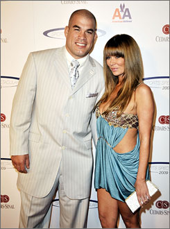 MMA light heavyweight Tito Ortiz and his wife, former adult film star Jenna Jameson, welcomed twin boys last March.
