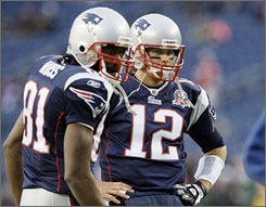 Tom Brady has led the Patriots back to first place in the AFC East after missing nearly all of the 2008 season.