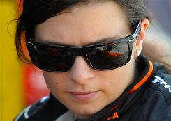 Danica Patrick announced a three-year deal Monday to remain in the IndyCar Series with Andretti Autosport but didn' t reveal any plans to moonlight in NASCAR next season.