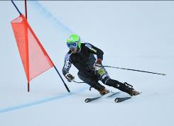 Ted Ligety, shown on a training run in September, is one of the USA's few bright spots in World Cup competition this season.