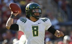 Quarterback Jeremiah Masoli has thrown for 14 touchdowns and run for 12 more in leading an explosive Oregon attack.