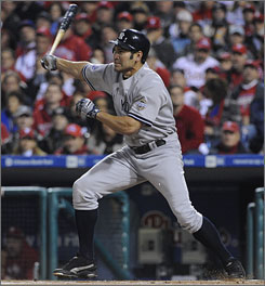 """Johnny Damon had one of his best years, """"(but) now that I'm 36, teams tend to look at you differently."""""""