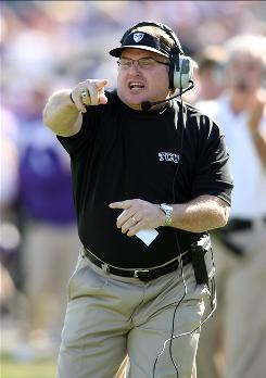 TCU coach Gary Patterson says the Horned Frogs are looking forward to playing in their first BCS bowl game.