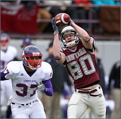 Wide receiver Marc Mariani (80) and the Montana Grizzlies put their undefeated record on the line when they host Appalachian State Saturday in the FCS semifinals.