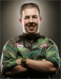 No more Mr. Goodwrench for Tom Smallwood. The former General Motors worker has parlayed a one-year exemption on the PBA Tour into a shot at the $50,000 grand prize in Sunday's PBA World Championship.