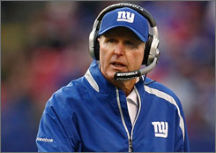A 'disappointed' Tom Coughlin said Monday he won't abandon defensive coordinator Tom Coughlin.