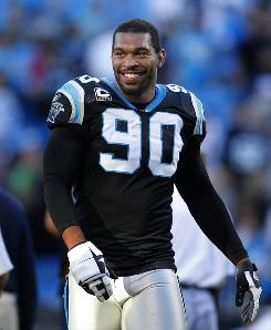 Defensive end Julius Peppers of the Carolina Panthers has the highest NFL salary in 2009 at $16.7 million.