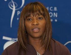 Serena Williams was selected Tuesday, along with Roger Federer, as the ITF's world champions for 2009.