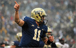 Quarterback Bill Stull and his Pittsburgh Panthers hope to take down North Carolina in the Meineke Bowl in Charlotte on Saturday.