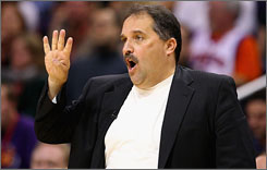 Coach Stan Van Gundy's Magic play games on Thanksgiving, Christmas and New Year's Day this season.