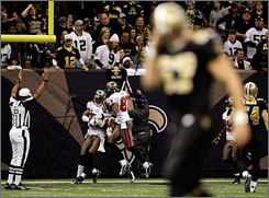 The Saints lost for the second straight week on Sunday against the Bucs.