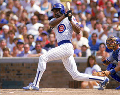 Andre Dawson is elected into the Hall of Fame on his ninth year on the ballot.