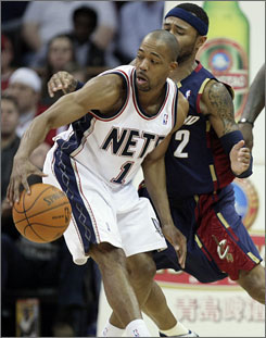 Rafer Alston (1) returns to Miami after playing with the Heat in 2003-04 during Dwyane Wade's rookie season.