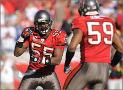 Derrick Brooks earned eight Pro Bowl berths during the 2000s.