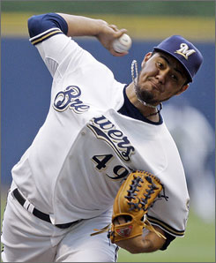 Yovani Gallardo is being counted on to be the Brewers' ace after going 13-12 with a 3.73 ERA and 204 strikeouts.