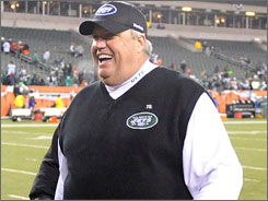 Jets coach Rex Ryan has said that his wild-card team should be favored to win the Super Bowl.