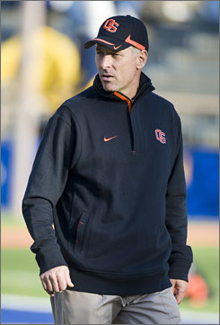 Oregon State coach Mike Riley was offensive coordinator at Southern California from 1993-96 under John Robinson.