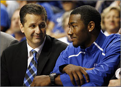 John Calipari and John Wall have the Kentucky Wildcats off to an undefeated start as conference play revs up in the SEC.