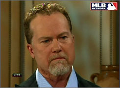Mark McGwire said in a USA TODAY interview, 'I was ready, willing and prepared to tell my story and come clean' but was denied immunity.