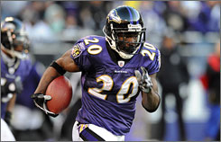 Ed Reed has earned six Pro Bowl invitations since the Ravens drafted him in the first round in 2002.