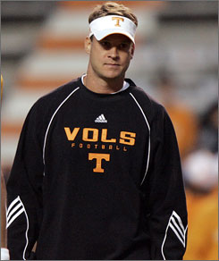Lane Kiffin was 7-6 in his one season at Tennessee. Now he will be coaching Southern California in 2010.