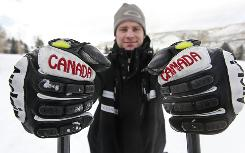 Chris Del Bosco, 27, a recovering alcoholic, hopes to compete for Canada in the Vancouver Olympics in ski cross, a sport that is making its Olympic debut.