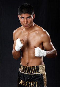 "Miguel ""Mikey"" Garcia will take on Joksan Hernandez Saturday night in Las Vegas."