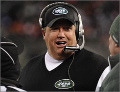 Rex Ryan has resurrected the Jets from playoff also-rans last season to the divisional playoffs in his first year as head coach.